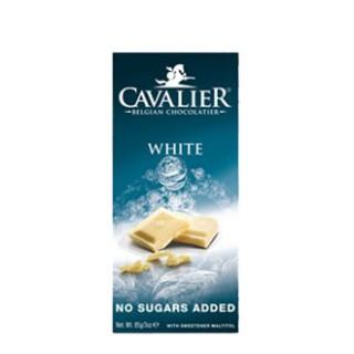 CAVALIER hvit sukkerfri sjokolade  85g