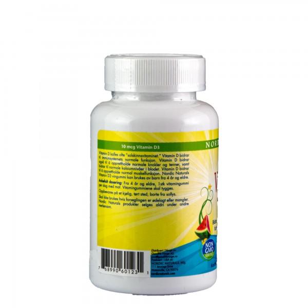 NORDIC NATURALS vitamin D3 gummies KIDS