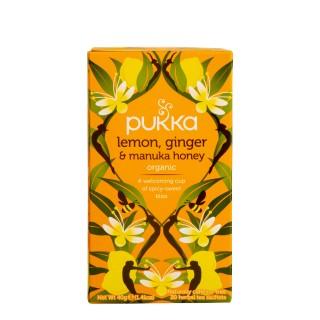 PUKKA Lemon, Ginger & Manuka Honey, 20 poser