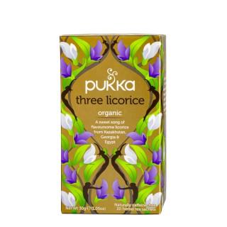 PUKKA Three Licorice, 20 poser
