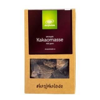 Økosjokolade kakaomasse 400g