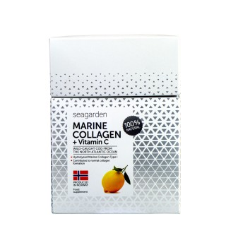 SEAGARDEN Marint Collagen + vit C (sitron) 30 x 5g