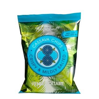 RENÉE VOLTAIRE Spicy Cassava Chips 85g