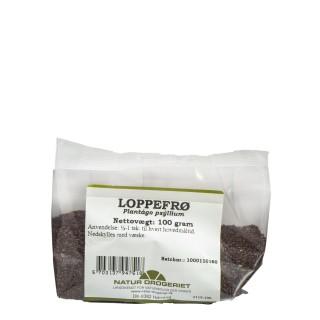 NATUR DROGERIET Psyllium frø- Loppefrø, 100g