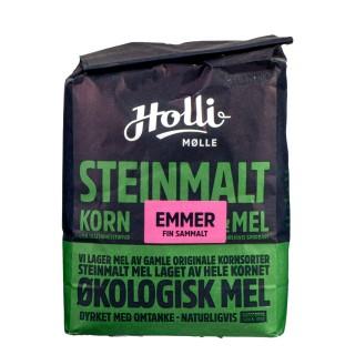 HOLLI økologisk fint sammalt EMMER 1kg