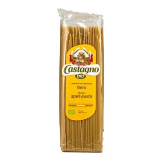 CASTAGNO økologisk emmer spaghetti, 500g