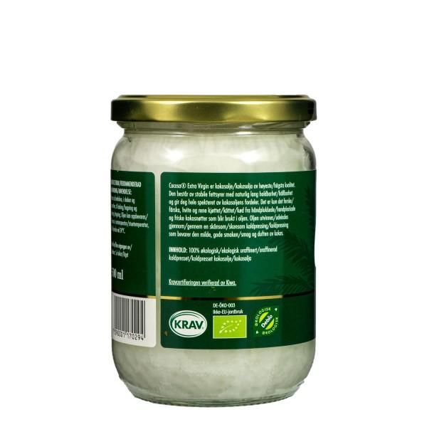 COCOSA Extra Virgin Coconut Oil 500 ml