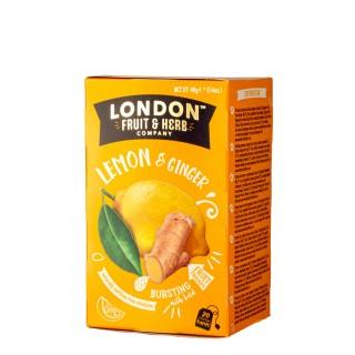 LONDON FRUIT & HERB Lemon & Ginger