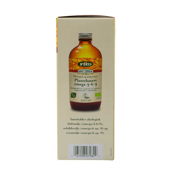 UDO's CHOICE Den optimale oljeblanding, 250 ml