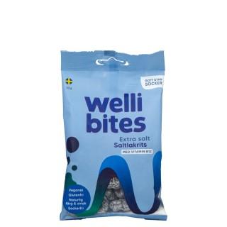 WELLIBITES ekstra salt lakris med B12