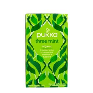 PUKKA Three mint, 20 poser