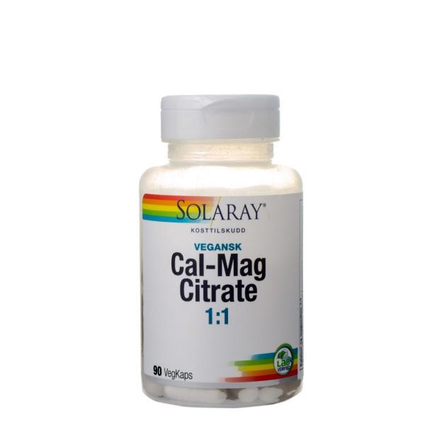 SOLARAY Cal-Mag 1:1, 90 kapsler