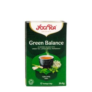 YOGI TEA Green Balance, 17 poser