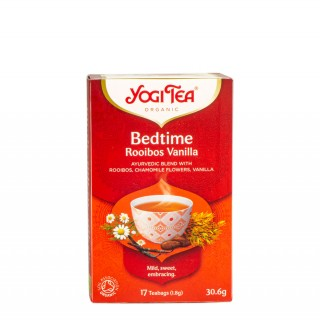 YOGI TEA Bedtime Rooibos Vanilla, 17 poser