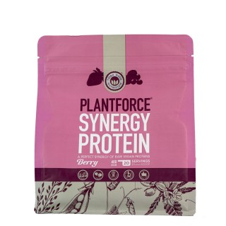 PLANTFORCE Synergy protein berry 400g
