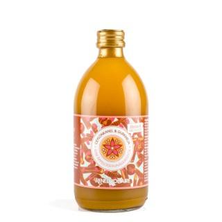 RENÉE VOLTAIRE Eplesidereddik drikk med ceylonkanel og gurkemeie, 500 ml