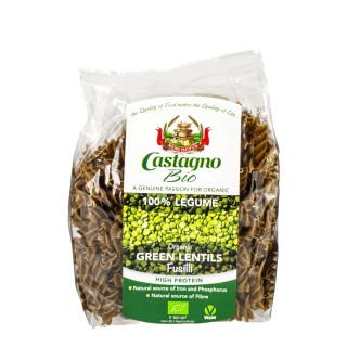 CASTAGNO økologisk linsepasta, 250g