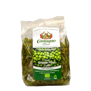 CASTAGNO økologisk ertepasta, 250g