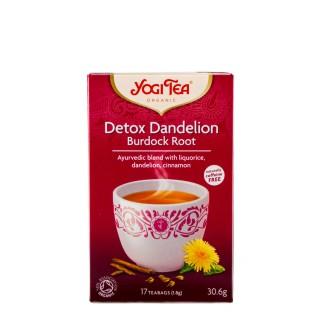 YOGI TEA Detox Dandelion, 17 poser