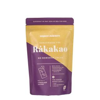 SUPERNATURE kakaomasse fra råkakao, 200g