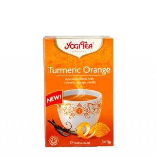 YOGI TEA Turmeric orange, 17 poser