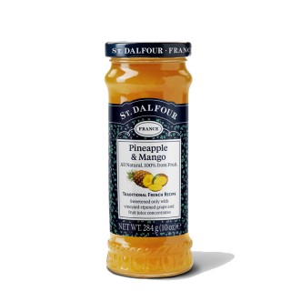 St. Dalfour ananas- og mangosyltetøy, 284 g