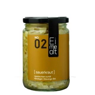 EIMEALT håndlaget sauerkraut, 390 ml