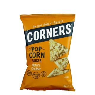 CORNERS Popcorn Crisps Mature cheddar, 85g