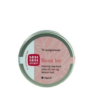 SÆBEVÆRKSTEDET Rosa leire til ansiktsmaske