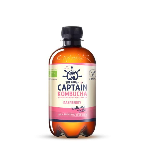 CAPTAIN KOMBUCHA Rasberry 400 ml
