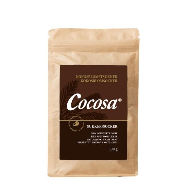 Cocosa økologisk kokossukker 500g