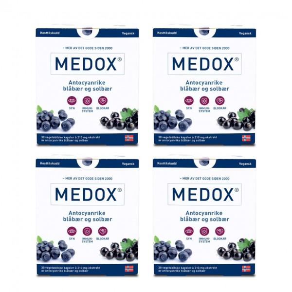 MEDOX antocyaner, 4 x 30 stk
