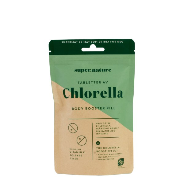 SUPERNATURE Chlorella, 300 tabletter