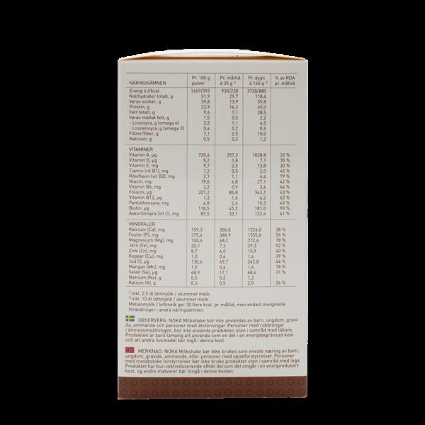 NOKA milkshake-diett med jordbærsmak 15stk