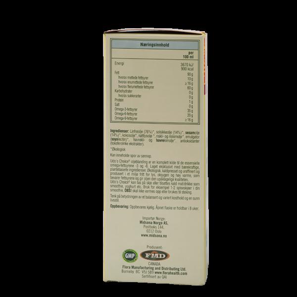 UDO's CHOICE Den optimale oljeblanding, 500 ml