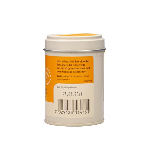 HELIOS finmalt økologisk gurkemeie, 23g