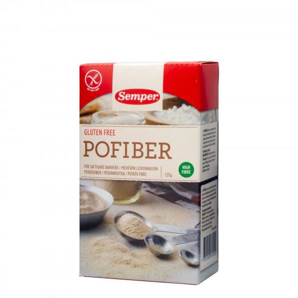 SEMPER Pofiber Potetfiber glutenfri, 125g