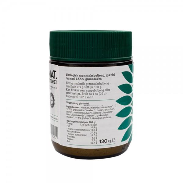 HELIOS økologisk grønnsaksbuljong, 130g