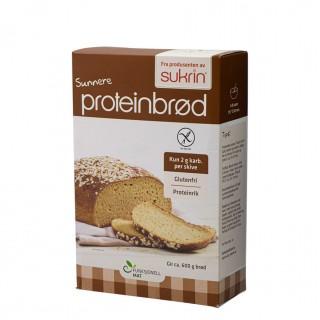 Brødmix for glutenfritt proteinbrød