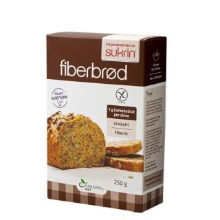 Brødmix for glutenfritt fiberbrød, 250g