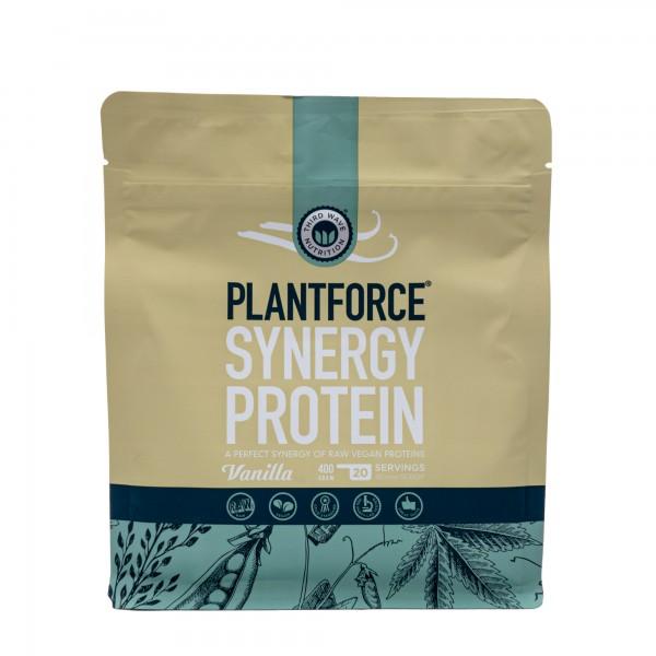 PLANTFORCE Synergy protein vanilla 400g