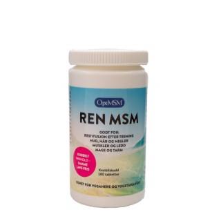 Ren MSM 180 tabletter