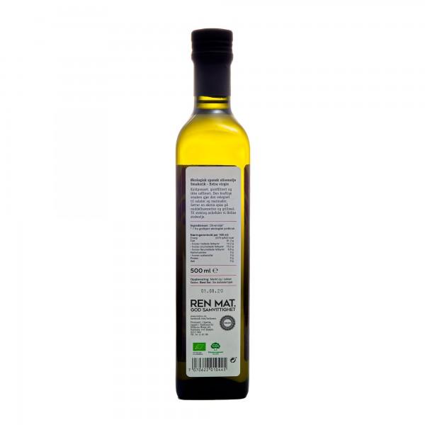 HELIOS økologisk spansk olivenolje extra virgin 500ml