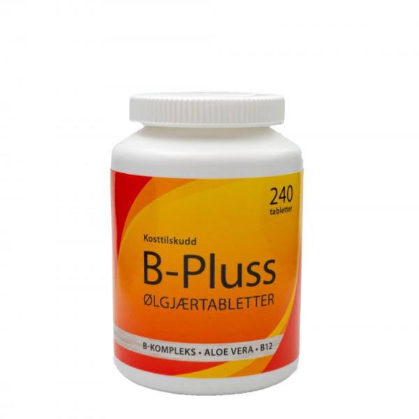 MCN B-pluss ølgjærtabletter, 240 tabletter