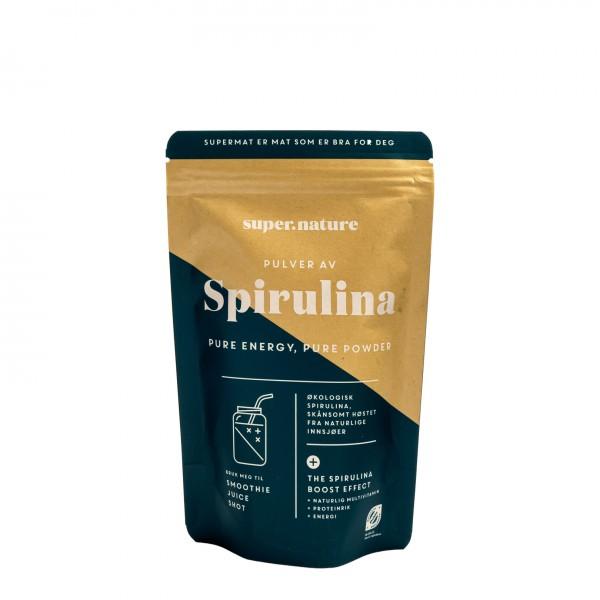 SUPERNATURE Økologisk Spirulina pulver 150g