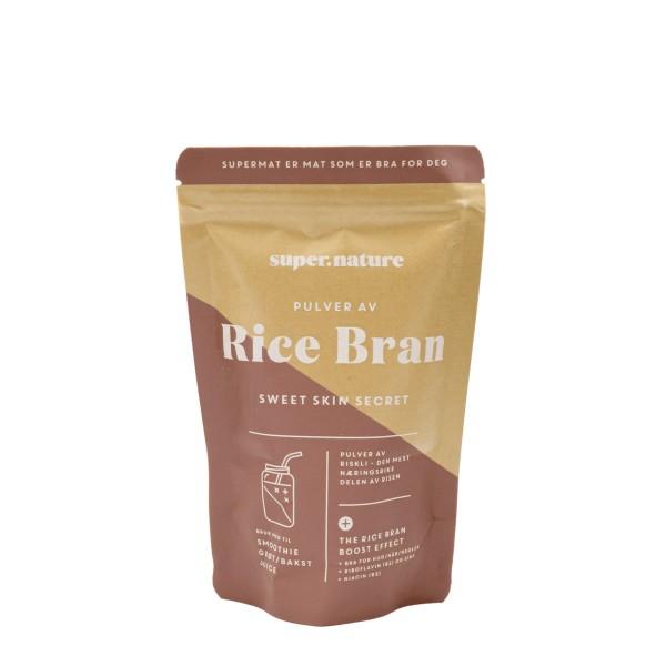 SUPERNATURE Rice Bran pulver 150g