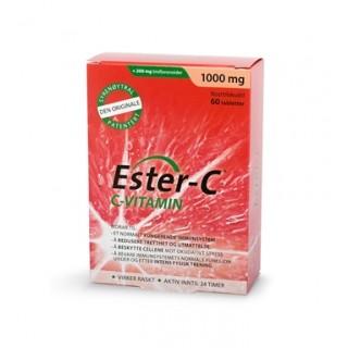 Ester-C 1000 mg, 60 tabletter