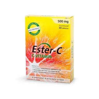 Ester C 500 mg, 60 tabletter