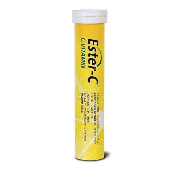 Ester-C brusetabletter 200 mg, 20 tabletter
