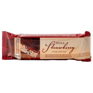 Noka strawberry crispy jelly bar 70g